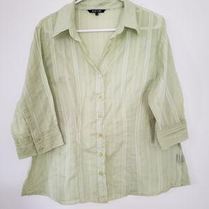 3/25$ Plus Size Encore blouse indian Cotton.